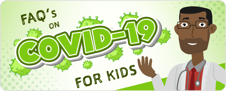 covid-19 kids banner